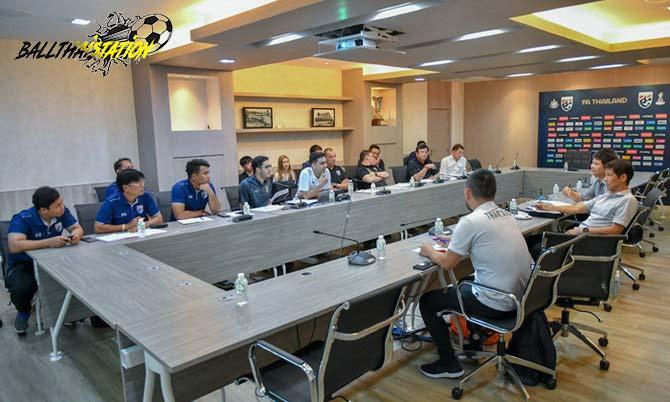 """""""โค้ชโต่ย-โค้ชจุ่น"""" รับงานผู้ช่วย """"นิชิโนะ"""" คุมทีมชาติไทยชุดใหญ่และรุ่นอายุไม่เกิน 23 ปี"""