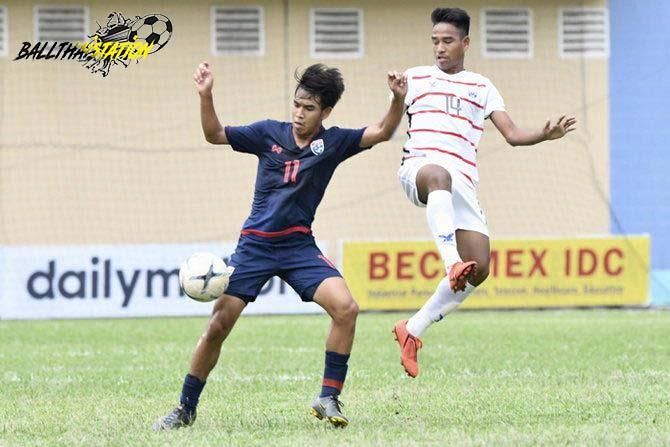 ทีมชาติไทย พ่ายแพ้ กัมพูชา 3-4 ศึกชิงแชมป์อาเซียน อายุ18ปี