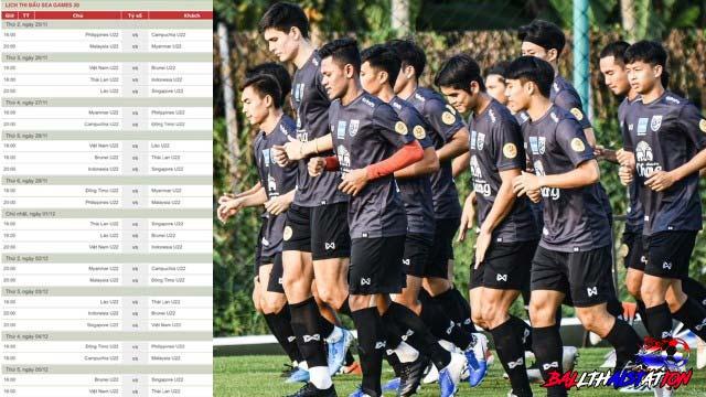 ตารางซีเกมส์นัดต่อไปทีมชาติไทยเปิดหัว-ปิดท้ายสนุกแน่นอน